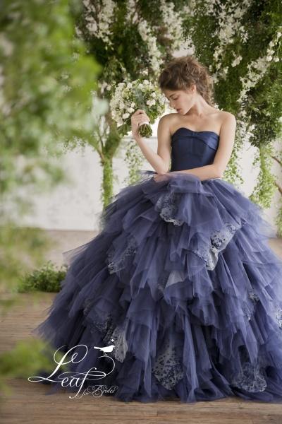 日本中の花嫁様を輝かせるドレス~Leaf for Brides~