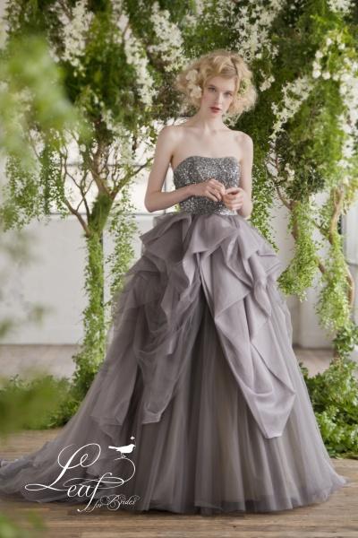 本物の素材や質感を実感した花嫁ドレス~Leaf for Brides~