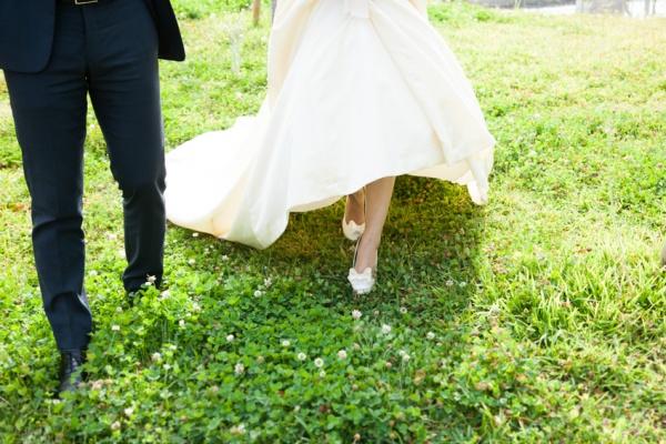 足元まで素敵な花嫁様になりませんか(*^_^*)