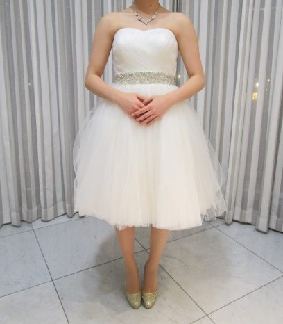 二次会も素敵なドレスを♪