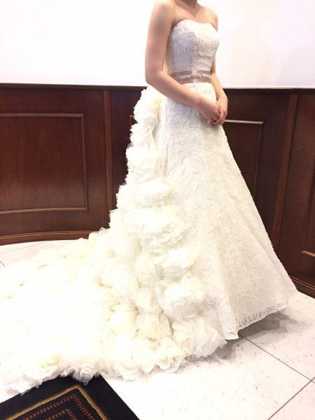 ISAMU MORITAのウェディングドレスのご紹介☆