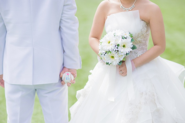 花嫁様には欠かせないブライダルブーケお決まりですか?