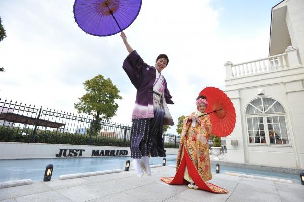 「結婚しました♡」みんなにご報告!年賀状に使いたい和装花嫁写真の撮り方!