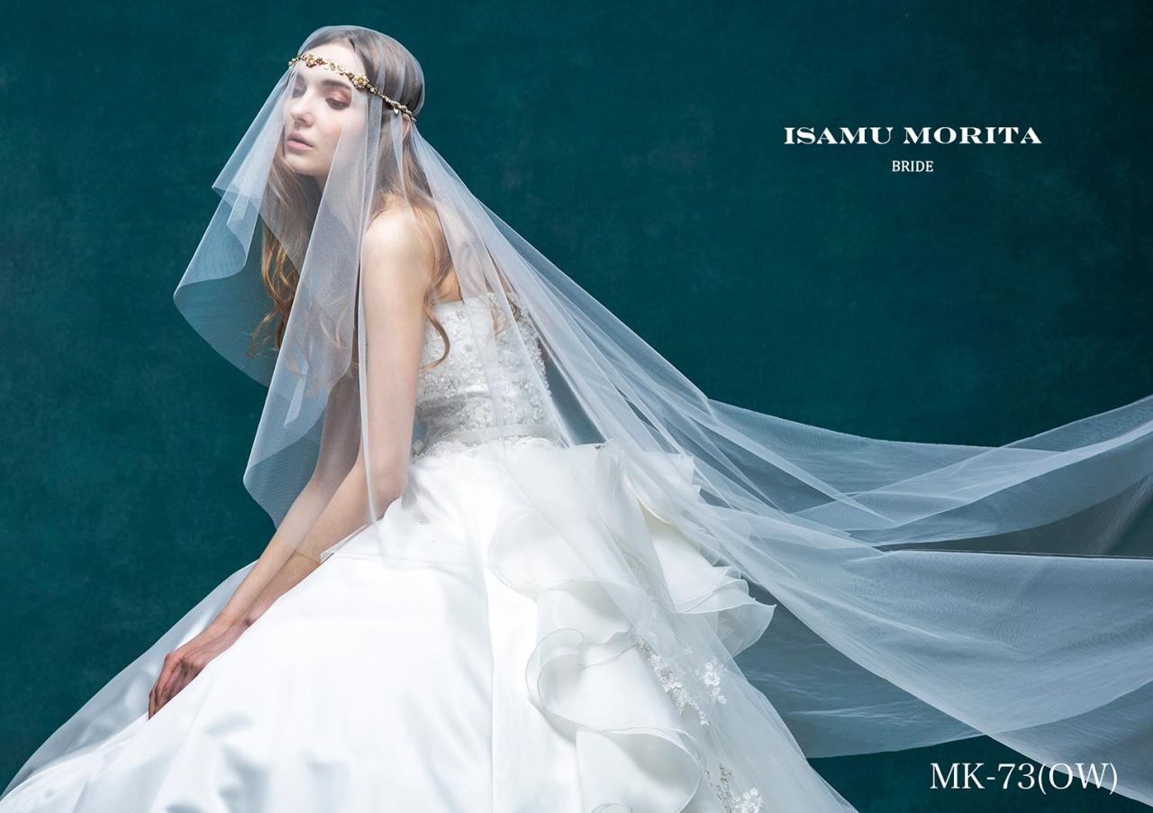 切ないほどに美しい「ISAMU MORITA(イサムモリタ)」より新作ウエディングドレス入荷♡