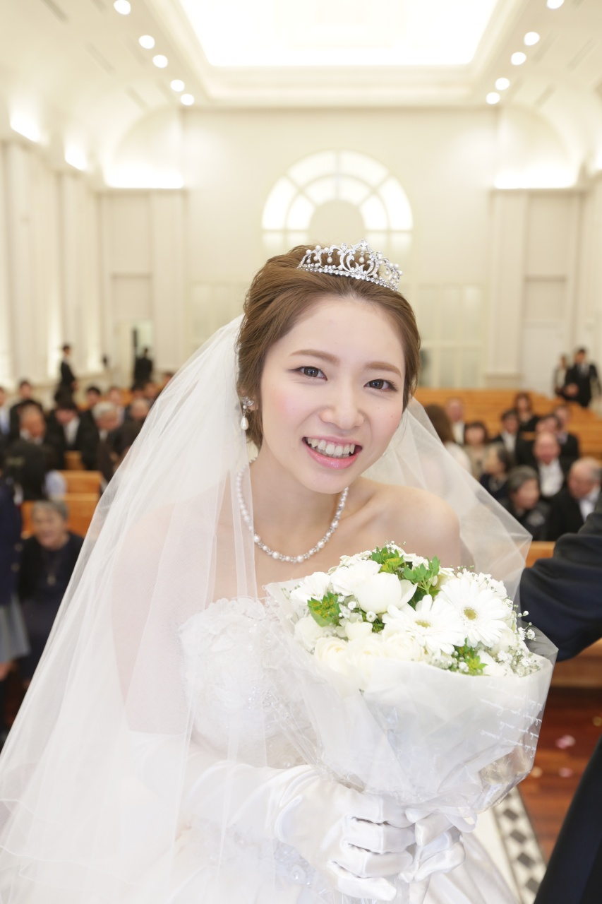 新潟 ドレス 結婚式 ブーケ
