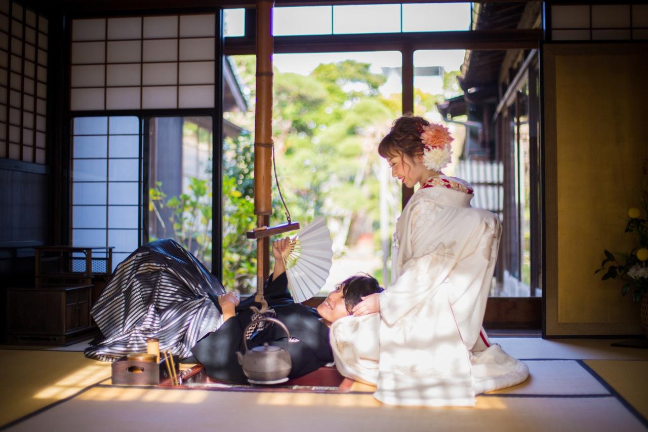 紋服 新郎 花嫁 和装 色打掛 白無垢