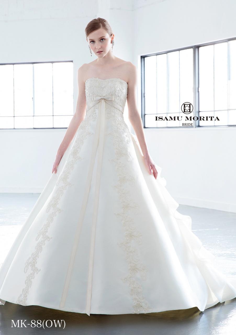 イサムモリタ ビアンベール ウェディングドレス