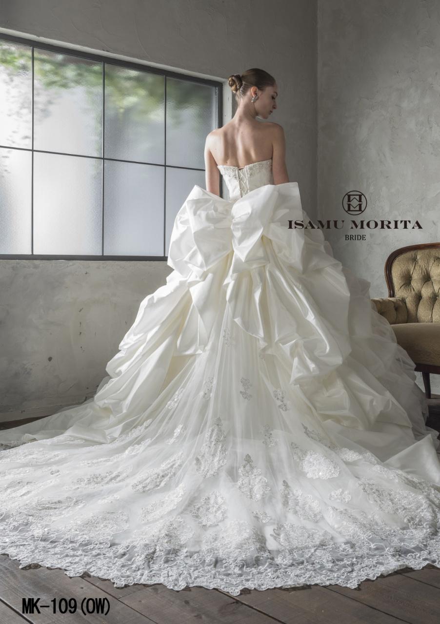 「一人でも多くの人に幸せな瞬間を」という願いが詰まったISAMU MORITA BRIDE新作ドレス入荷♡