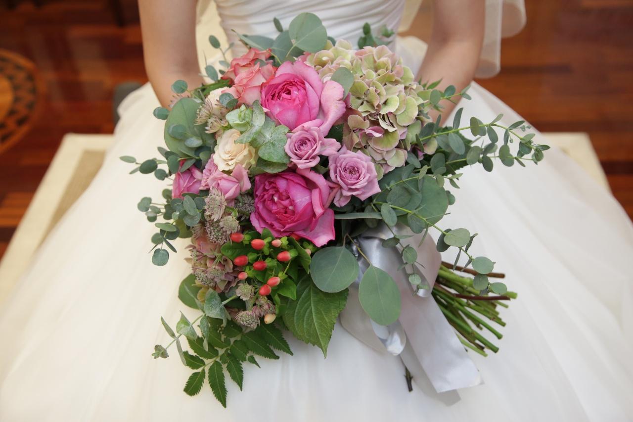 クラッチブーケ ビアンベール 花嫁 結婚式
