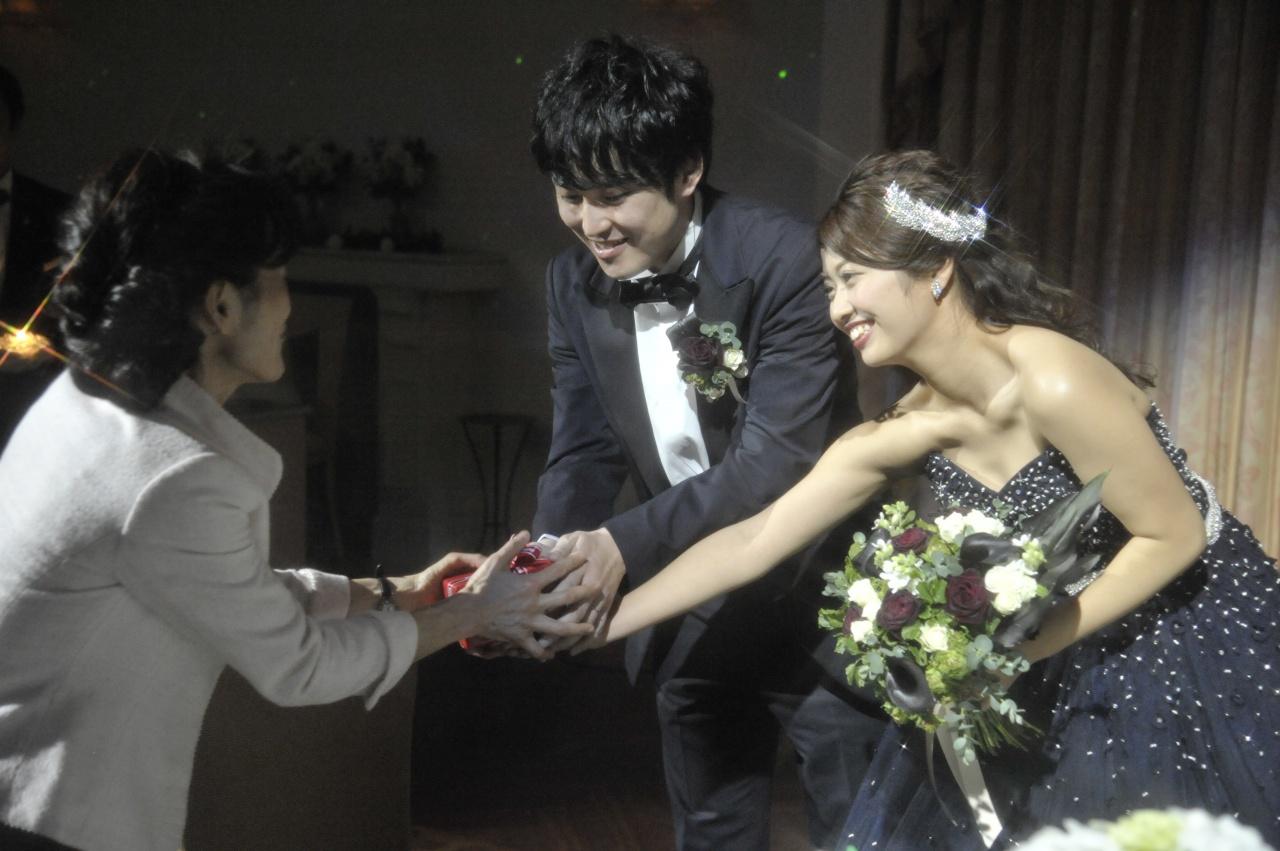 クラッチブーケ 結婚式 花嫁 ビアンベール本店