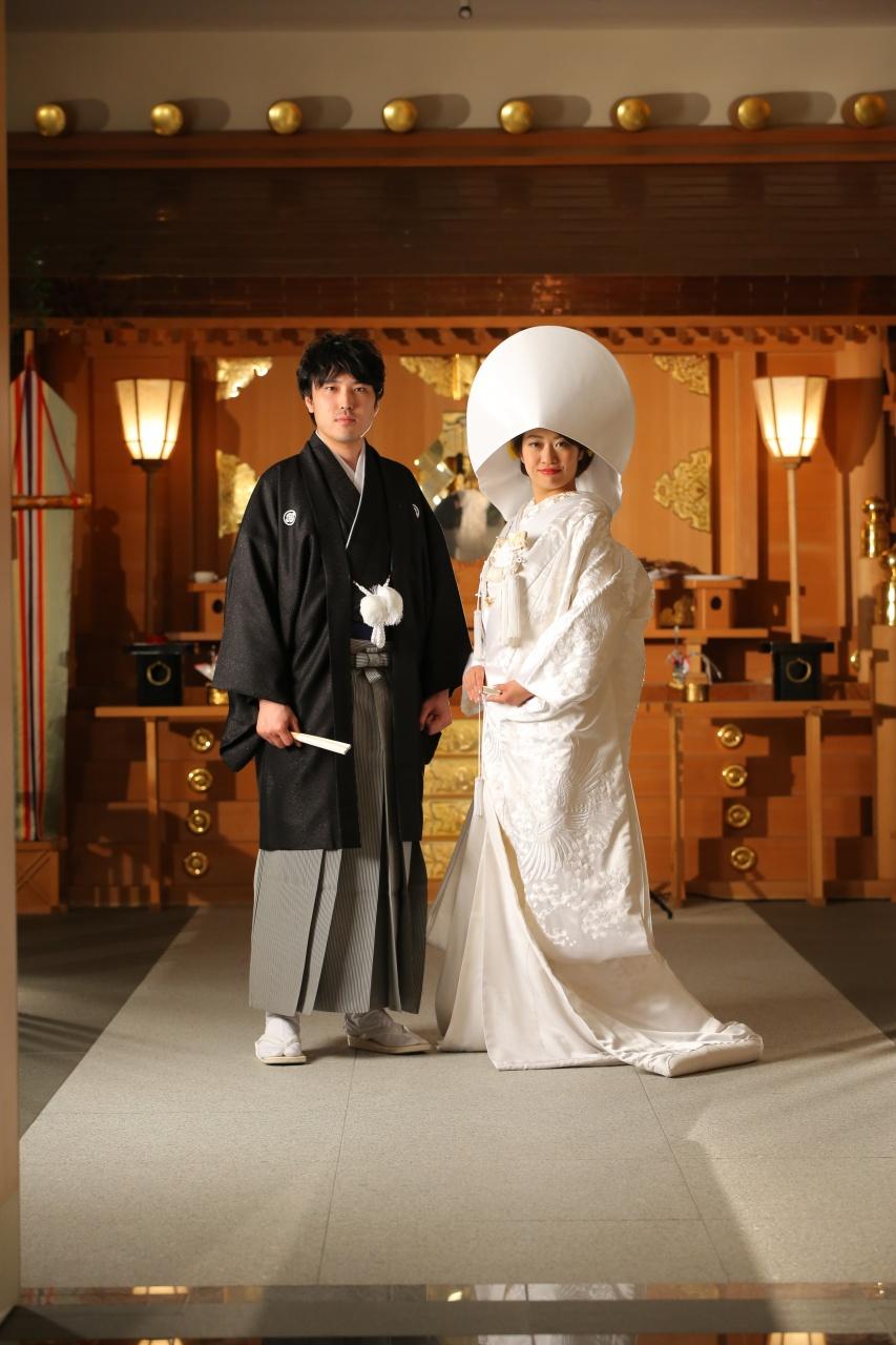 ビアンベール本店 白無垢 綿帽子 和装 花嫁