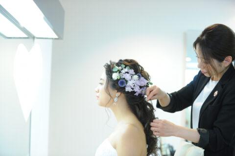 【必見】王道からトレンドまで!おしゃれ花嫁様のウエディングヘアご紹介♡