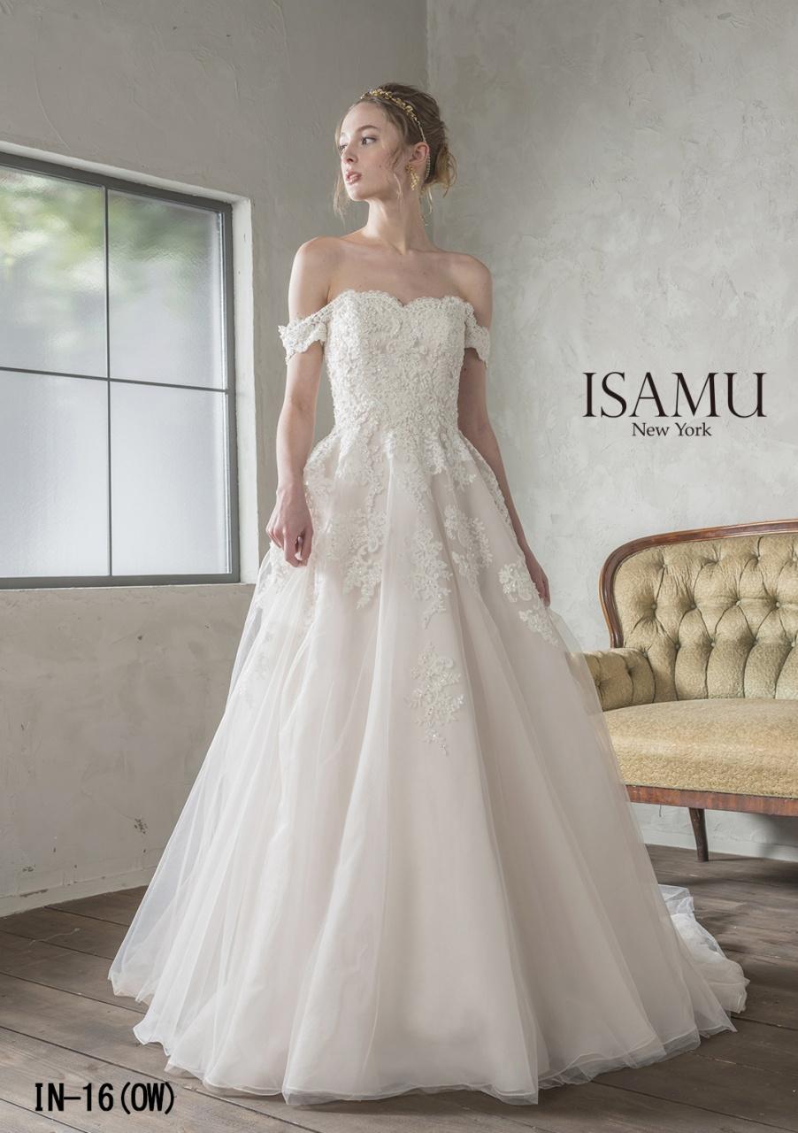花嫁様に大人気!ISAMU MORITA (イサムモリタ)から新作ドレスが入荷します♡