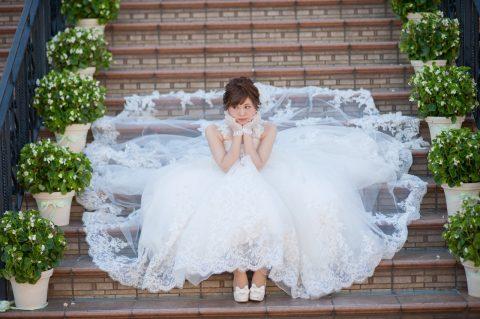 ビアンベール本店 ピアザララルーチェ 新潟 結婚式場 ドレス
