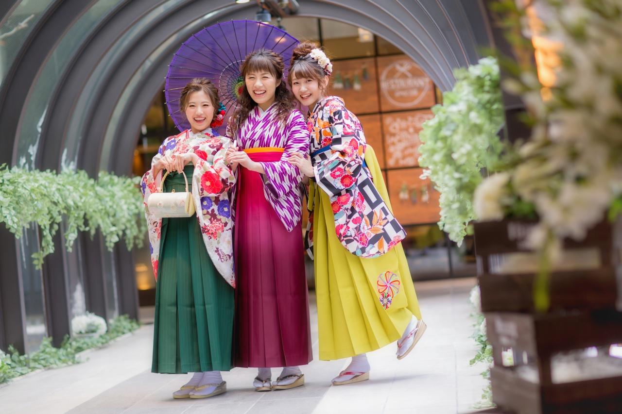 10月6日~8日卒業式新作イベント開催!可愛い袴が多数入荷します♡