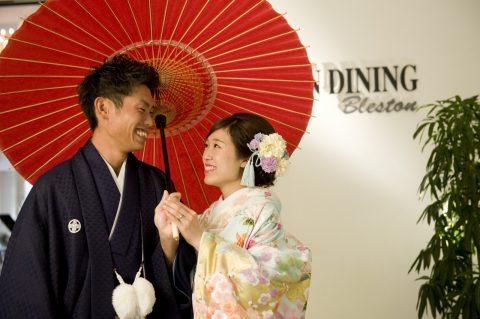 ビアンベール本店 新潟 結婚式場 色打掛 花嫁和装