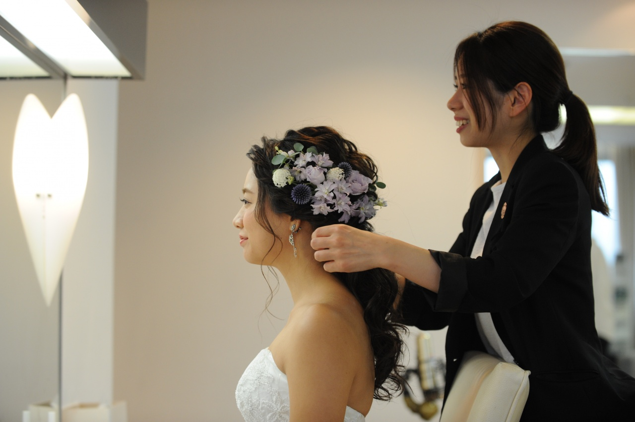 インスタ映え間違いなし、リアル花嫁様がしてる『#ブライダルヘア』6選♡