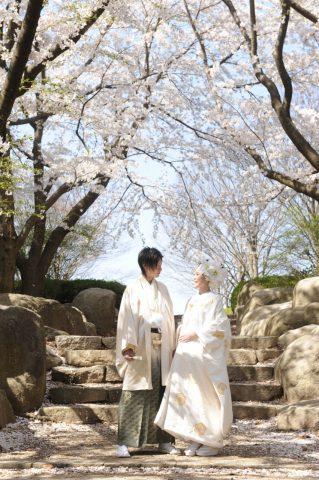 ビアンベール本店 新潟 結婚式場 和装 白無垢 紋付き袴 紋服