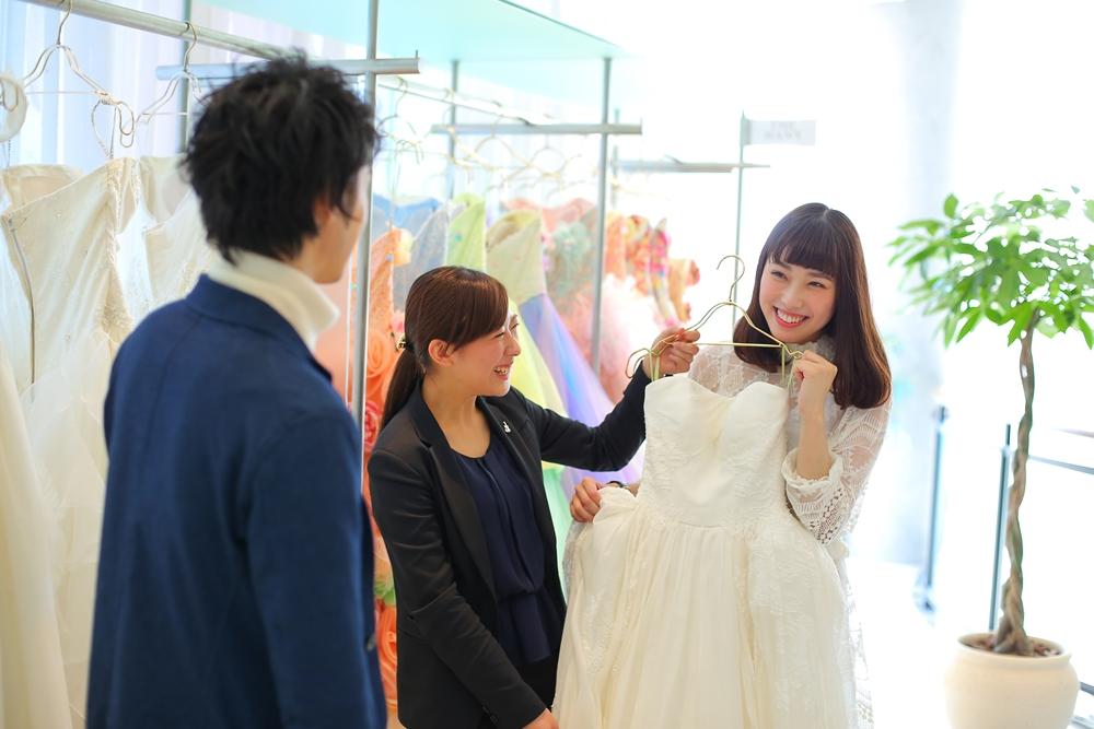 ビアンベール 打合せ ドレス 結婚式