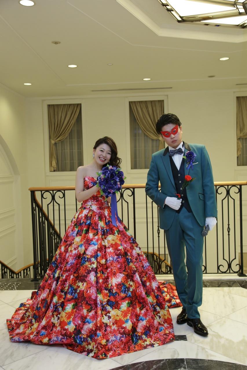 ビアンベール本店 タキシード ウェディングドレス