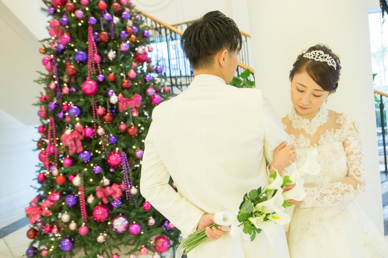 ウエディングドレスには王道のパールを!ミキモトジュエリーのご紹介です♡