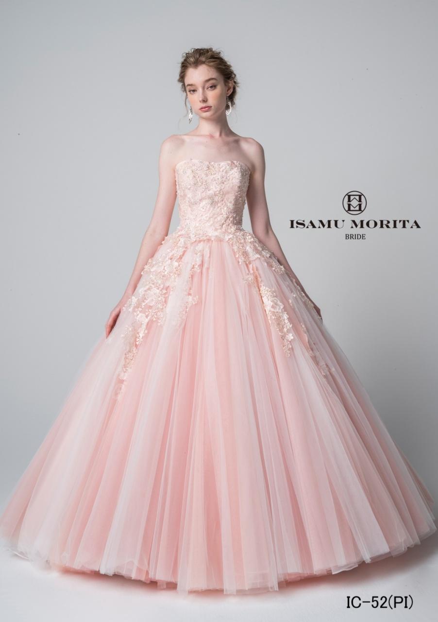ビアンベール本店 イサムモリタ 新作 カラードレス ウェディングドレス