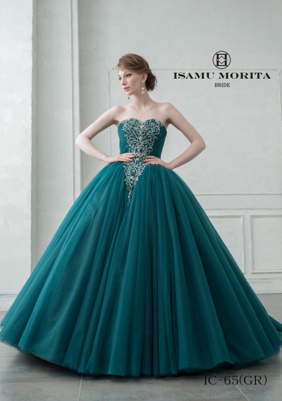 ビアンベール本店 イサムモリタ カラードレス ウェディングドレス