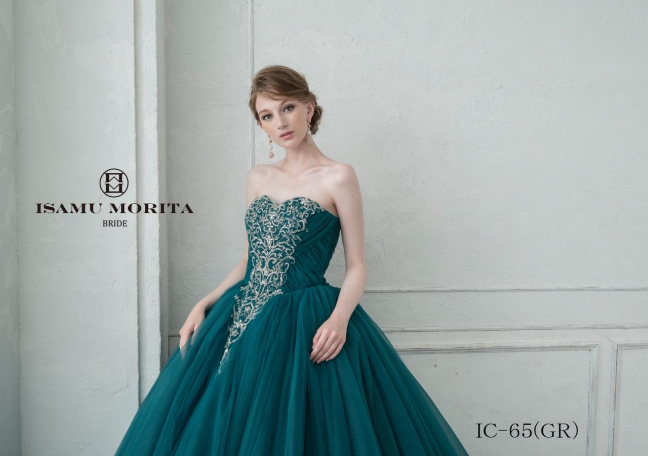 花嫁様が恋をしてしまうほどに美しいISAMU MORITA(イサムモリタ)の新作ドレスが入荷しました♡