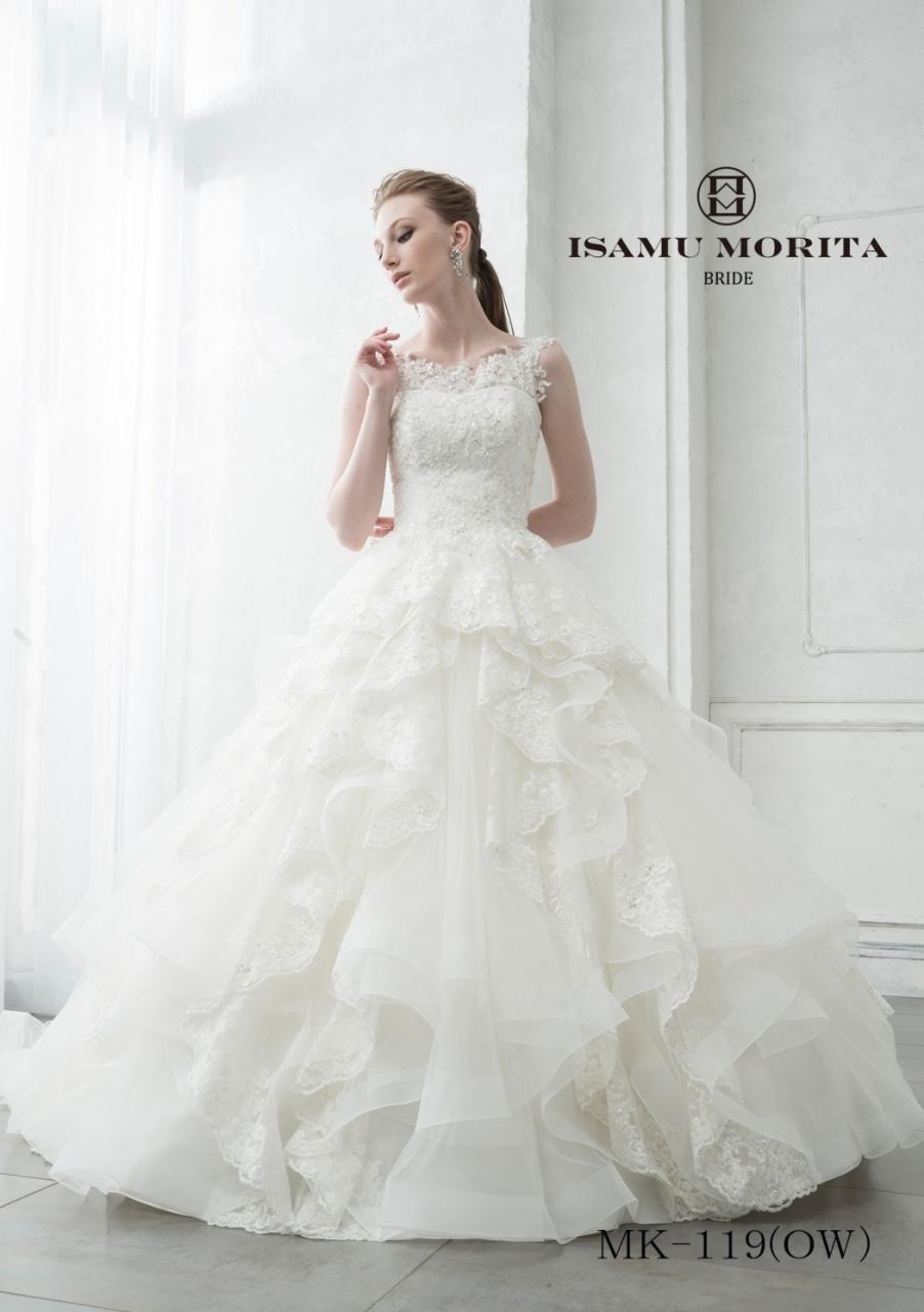 イサムモリタ 新作 ウェディングドレス