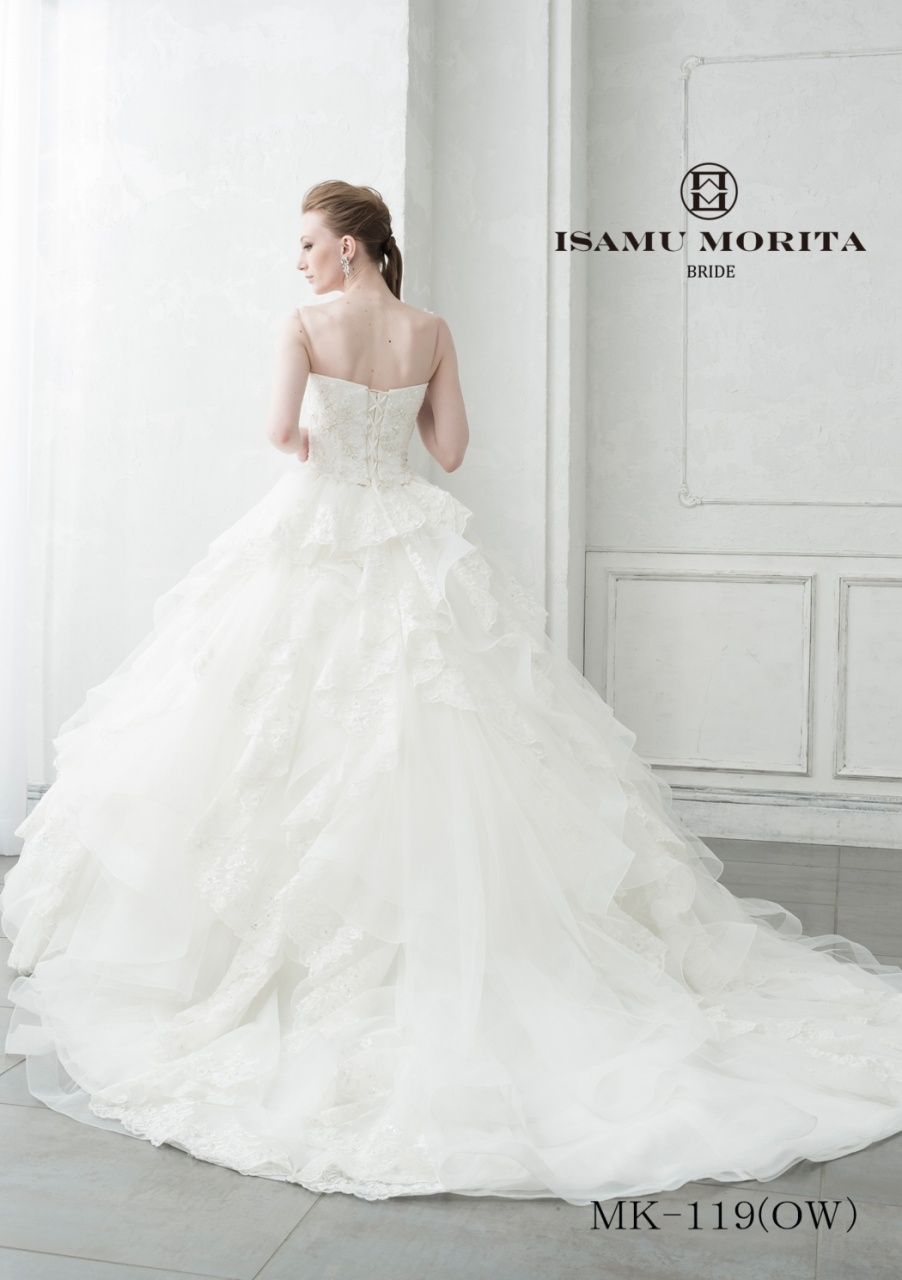 イサムモリタ ウェディングドレス 新作 ドレス 花嫁