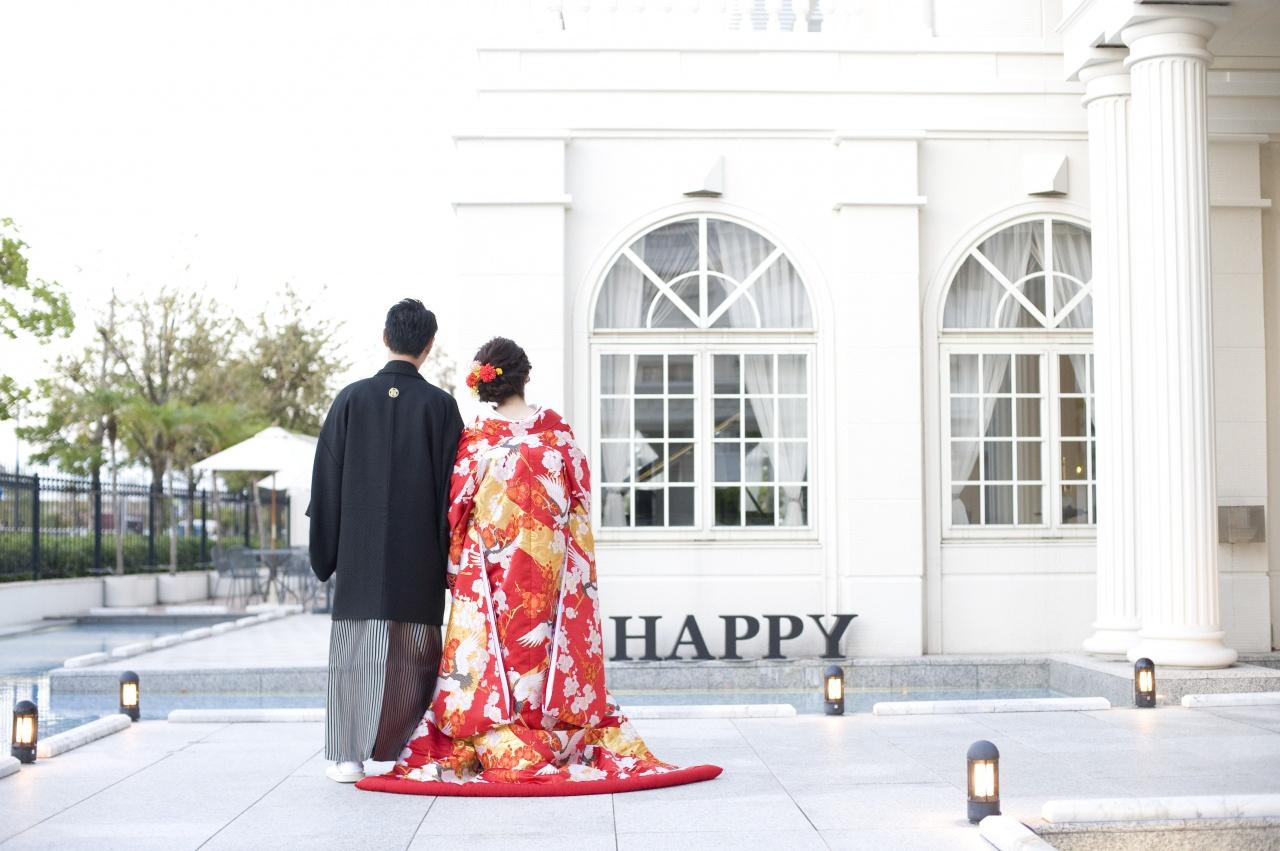 色打掛 結婚式 ビアンベール本店