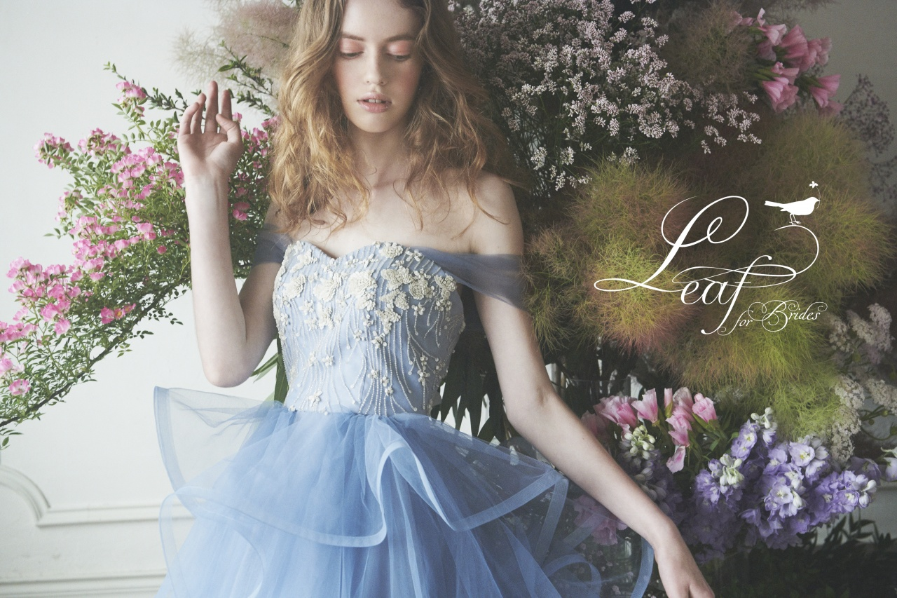 女ごころをくすぐるブランドLeaf for Brides(リーフ フォー ブライズ)から新作ドレスのご紹介♡