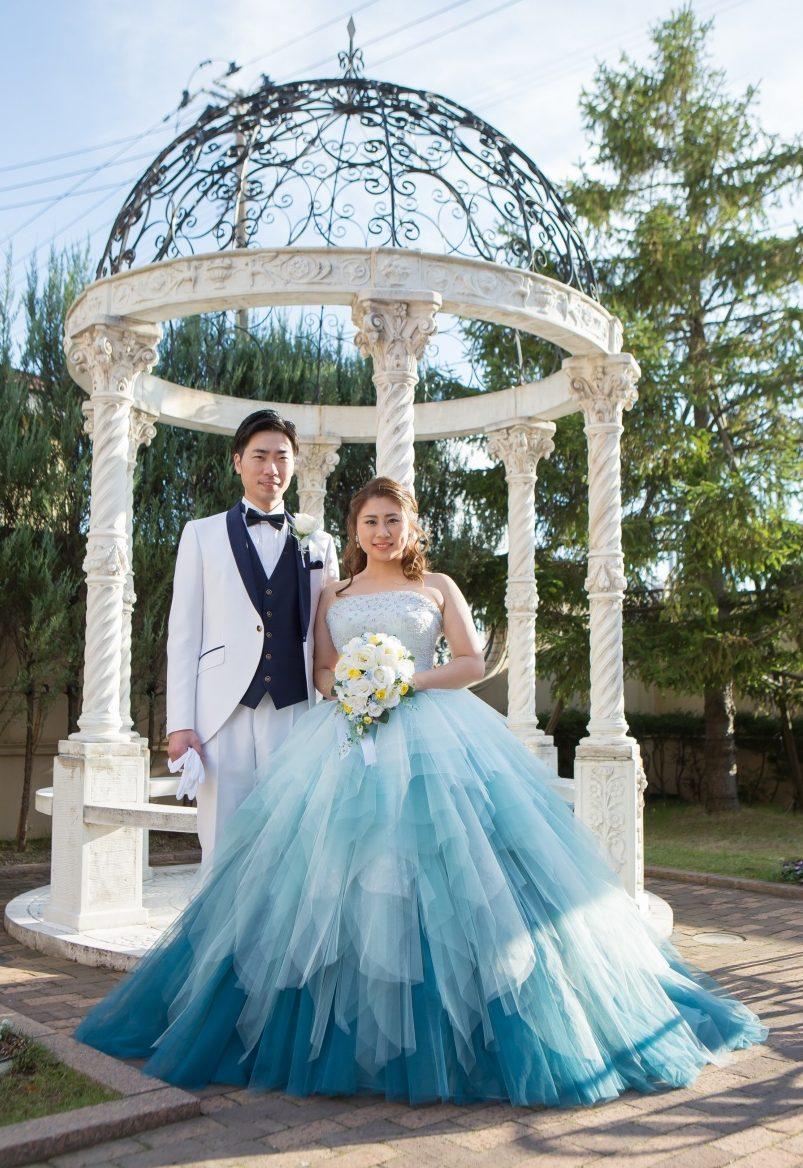 プリンセスライン カラードレス かわいい キュート