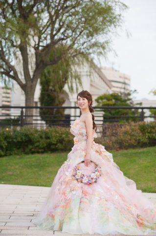 ビアンベール本店 新潟 結婚式場 ドレス カラードレス