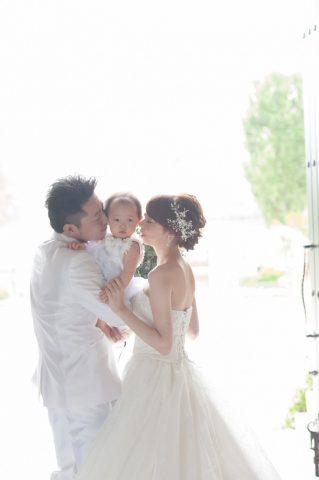 ビアンベール本店 新潟 結婚式場 ウエディングドレス ペアコーデ