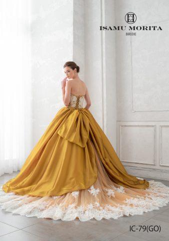 イサムモリタ 新作ドレス かわいい カラードレス おしゃれ
