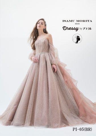 イサムモリタ かわいい 新作ドレス おしゃれ