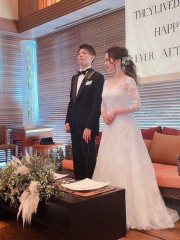 2次会 二次会 ドレス 結婚式 新潟花嫁
