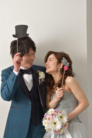 カラードレス グレードレス おしゃれ 花嫁 結婚式