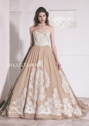 JIL0312 ピンクドレス 新潟 花嫁カラードレス