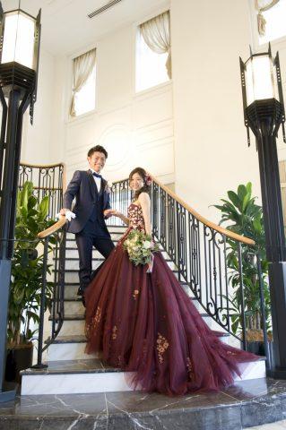 ドレス ウエディングドレス 大人ウエディング カラードレス
