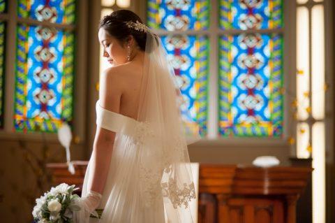 ベールをつけたら絶対に撮りたい♡卒花嫁のベールフォト集♡