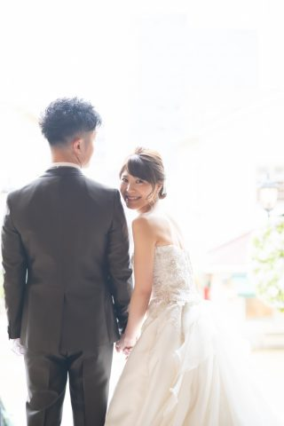 ドレス 新郎新婦 ビアンベール 結婚式