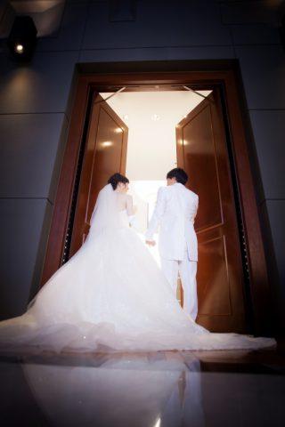 新郎新婦 結婚式 ビアンベール本店