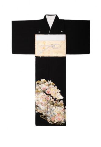 江戸褄 黒留袖