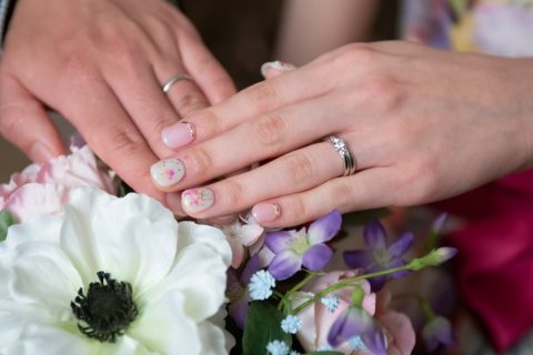 先輩花嫁のネイルを一挙公開♡♡ビアンベールのチップネイルのメリットとは?