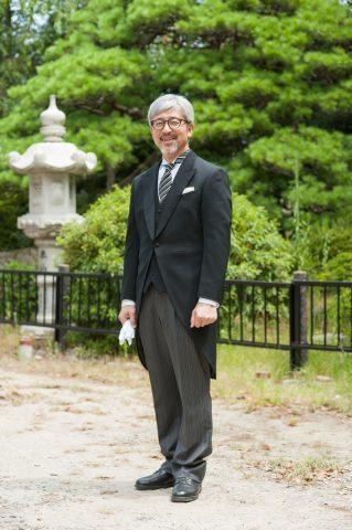 モーニング お父様 結婚式 江戸褄 家族衣裳