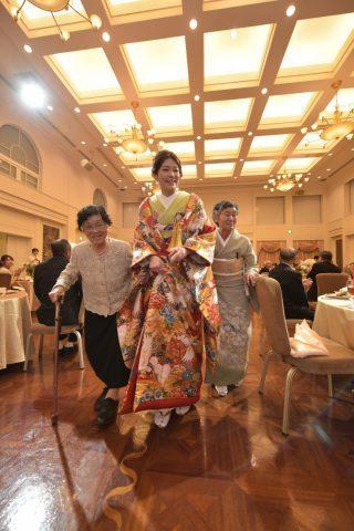家族衣裳 色留袖 結婚式
