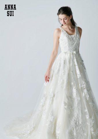 【新作ドレス】「二律背反」の美学♡ANNA SUI(アナ スイ)