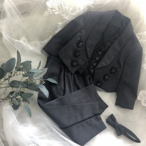 子供タキシード 結婚式 家族衣裳